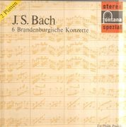 Double LP - Johann Sebastian Bach/Die Stuttgarter Solisten, M. Couraud - 6 Brandenburgische Konzerte - Gatefold