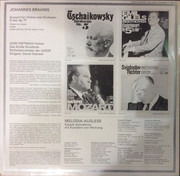LP - Johannes Brahms , Igor Oistrach , David Oistrach , Rundfunk-Sinfonieorchester UdSSR - Violinkonzert - Duplo-Sound