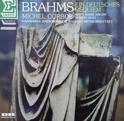 LP - Johannes Brahms , Michel Corboz , Britt-Marie Aruhn , Robert Holl , Danmarks Radios Symfoniorkester - Ein Deutsches Requiem - Test Pressing