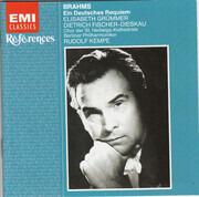CD - Brahms - Ein Deutsches Requiem (Grümmer / Dieskau / Kempe)