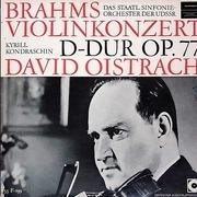 LP - Brahms , Oistrach , Russian State Symphony Orch. ,Kondrashin - Violinkonzert D-dur Op. 77