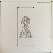 LP - John Browning - Beethoven: Diabelli Variations