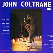 LP - John Coltrane - John Coltrane - front laminated flip back cover