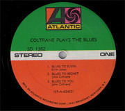 LP - John Coltrane - Coltrane Plays The Blues
