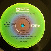 LP - John Coltrane - Live At The Village Vanguard Again! - Gatefold