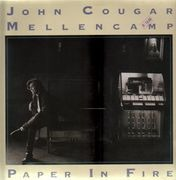 12inch Vinyl Single - John Cougar Mellencamp - Paper In Fire