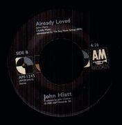 7inch Vinyl Single - John Hiatt - Slow Turning