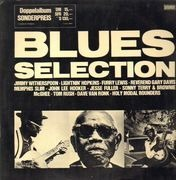 Double LP - John Lee Hooker, Furry Lewis, Lightnin Hopkins - Blues Selection
