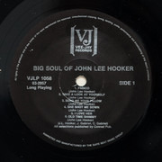 LP - John Lee Hooker - The Big Soul Of John Lee Hooker - still sealed