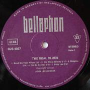 LP - John Lee Hooker - The Real Blues