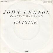 7inch Vinyl Single - John Lennon , The Plastic Ono Band - Imagine