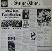 Double LP - John Lennon & Yoko Ono / The Plastic Ono Band With Elephants Memory And Invisible Strings - Some Time In New York City