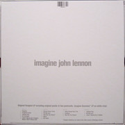 Double LP - John Lennon - Imagine - 40th Anniversary Special Edition - Still sealed, white