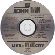 CD - John Lennon - Live In New York City