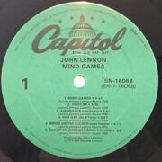 LP - John Lennon - Mind Games - + big Poster