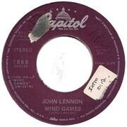7inch Vinyl Single - John Lennon - Mind Games