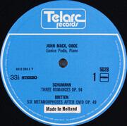 LP - John Mack , Eunice Podis - John Mack, Oboe