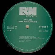 LP - John Abercrombie - Timeless