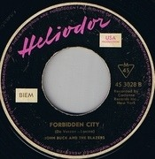7inch Vinyl Single - John Buck And The Blazers - Chi Chi / Forbidden City