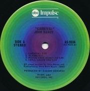 LP - John Handy - Carnival