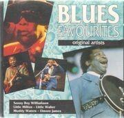 CD - John Lee Hooker, Sonny Boy Williamson, Howlin' Wolf,u.a - Blues Favourites
