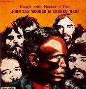 Double LP - John Lee Hooker & Canned Heat - Boogie With Hooker N´ Heat - Disques Festival
