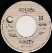 7inch Vinyl Single - John Lennon - (Just Like) Starting Over