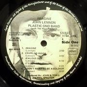 LP - John Lennon - Imagine - GERMAN / UK APPLE