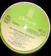 LP - John Lennon - The John Lennon Collection - green Odeon