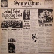 Double LP - John Lennon & Yoko Ono / The Plastic Ono Band - Some Time In New York City - Winchester Pressing