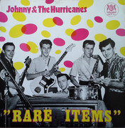 LP - Johnny And The Hurricanes - Rare Items