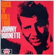 LP - Johnny Burnette - Rock 'N Roll Trio - UK