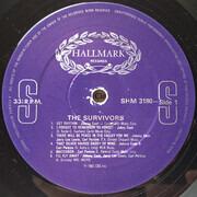 LP - Johnny Cash , Carl Perkins , Jerry Lee Lewis - The Survivors
