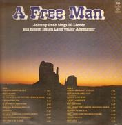 LP - Johnny Cash - A Free Man