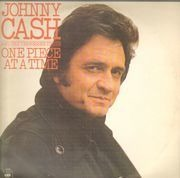 LP - Johnny Cash & The Tennessee Three - One Piece At A Time