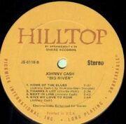 LP - Johnny Cash - Big River