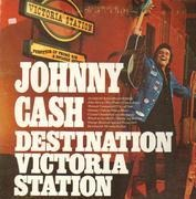 LP - Johnny Cash - Destination Victoria Station - Columbia Special Products