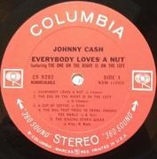 LP - Johnny Cash - Everybody Loves A Nut - 360 Sound labels