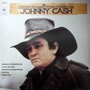 LP - Johnny Cash - Country And Western Superstar - Boxed Eye