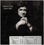 LP - Johnny Cash - Gone Girl - PROMO
