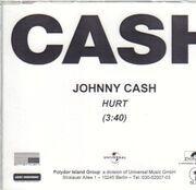 CD Single - Johnny Cash - Hurt - Promo