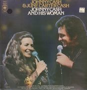 LP - Johnny Cash & June Carter Cash - Johnny Cash And His Woman
