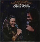 LP - Johnny Cash & June Carter Cash - Johnny Cash And His Woman