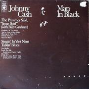 LP - Johnny Cash - Man In Black - Original UK