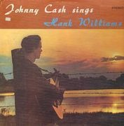LP - Johnny Cash - Sings Hank Williams
