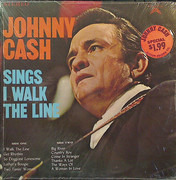 LP - Johnny Cash - Sings I Walk The Line