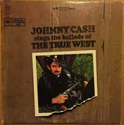 Double LP - Johnny Cash - Sings The Ballads Of The True West