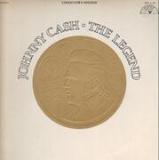 Double LP - Johnny Cash - The Legend - Gatefold + booklet