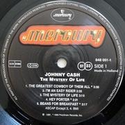 LP - Johnny Cash - The Mystery Of Life