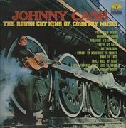 LP - Johnny Cash - The Rough Cut King Of Country Music